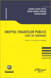 Dreptul finantelor Costas ed. 5