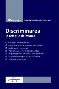 Discriminarea in relatiile de munca - Muscalu