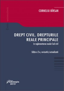 Drept civil. Drepturile reale principale. Editie revizuita