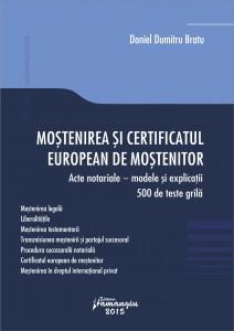 Mostenirea si certificatul european de mostenitor