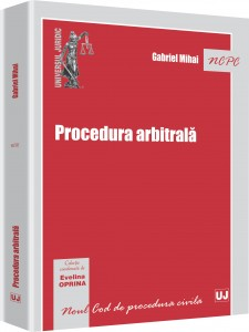 Gabriel Mihai - Procedura arbitrala 3D