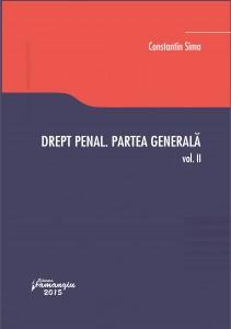 Drept penal. Partea generala. Vol. II - Sima