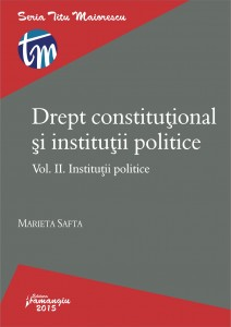 Institutii politice_vol. II_safta
