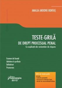 Teste-grila de drept procesual penal - Bontas