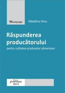 Raspunderea producatorului pentru calitatea produselor alimentare_Dinu