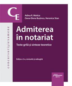 Admiterea in notariat