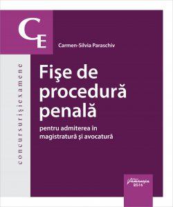 Fise de procedura penala - Carmen Paraschiv